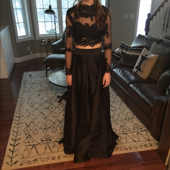 982dbd788a42 Hebeos Dresses | Black Prom Dress | Poshmark